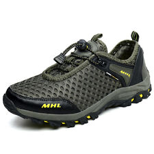 Mens Fashion Trail Hiking Shoes Breathabel Non Slip Wearable Mesh Outdoor Shoes
