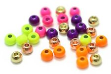 100 Pcs Tungsten Beads 5 Colors 3.45 MM Fly Tying Beads Fly Tying Materials