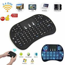 Rii mini i8 2.4GHz Wireless Keyboard with Touchpad for smart TV PC android BGSN