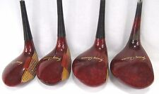 MacGregor 1955 Tommy Armour TOURNEY 693T Oil Hardened WOODS SET DRIVER, #2,#3,#4
