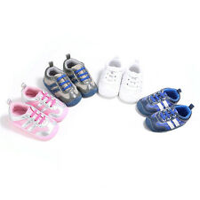 0-12 Month Infant Baby Boy Girl Pre-Walker Soft Sole Crib Shoes Newborn Sneakers