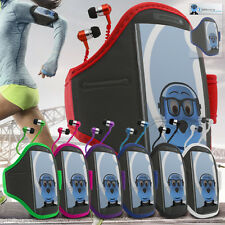 Sports ARMBAND & HEADPHONES Case Cover For Huawei U8800 Ideos X5