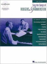 Sing the Songs of Rodgers and Hammerstein: Low Voice, Book + CD