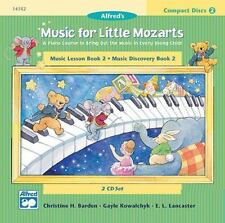 Music for Little Mozarts: 2-CD Set for Lesson & Discovery Books: Level 2 (2 CDs)