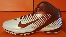 New Nike Air Zoom Alpha Talon Football Cleats Shoes NFL NCAA RED WHITE LACROSSE