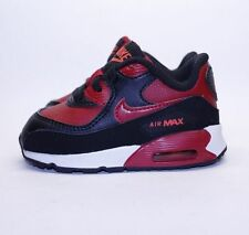 New Nike Infant Toddler Air Max 90 LTR (TD) Shoes Size 3C 4C Gym Red 724823