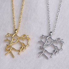Beauty and the Beast Rose-Tree Pendant Neckalce Fashion Jewelry For Women