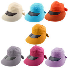 Outdoor Travel Cycling Summer Beach Wide Brimmed Cap Sun Protective Visor Hat