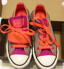 New-Converse-All-Star-12Y-Shoes-Multi-Color-Laces-Double-Tongue-Athletic-Fashion