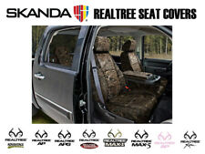 Coverking Solid Realtree Camo Tailored Front Seat Covers for Jeep Patriot