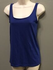 Old Navy S Tank Top WOMENS Fitted Blue Sleeveless NWT