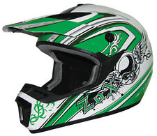 Zox Roost X Gothic Green Off Road Helmets Dirt Bike Motorcycle