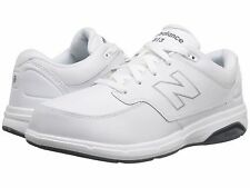 NEW BALANCE MW813WT - MEN'S LACE-UP WALKING SHOES - WHITE - BRAND NEW!