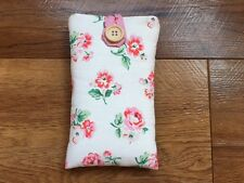 iPhone 7 / 7 Plus Padded Case Made With Cath Kidston White Ashdown Rose Fabric