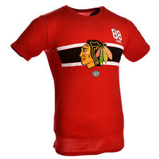 Patrick Kane Chicago Blackhawks Striped Name And Number T-Shirt (Red)