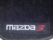 MAZDA 3 SEDAN AND HATCHBACK 2004-2013 SET FLOOR MATS COSTUMIZED ORIGINAL CUT