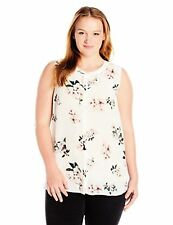 Lucky Brand Women's Plus SZ Floral Silk Tank Top - Choose SZ/Color