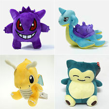 Pokemon Plush Soft Toys Stuffed Doll Gengar Figure Kids Teddy Gift Collection