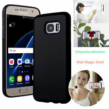 Anti Gravity Nano Suction Sticky Selfie Phone Case Cover For Samsung iPhone
