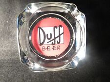 ASHTRAY DUFF BEER   ,GIVE IT AS A GIFT !LIGHTER WICK FLINT& LIGHTER FLUID !