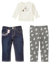Gymboree Tres Fabulous Poodle Tops Jeans Leggings NWT