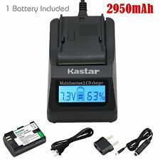 LPE6 Battery & Fast Charger for Canon 5D Mark II, 5D Mark III, 5DS, 5DS R, 6D