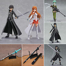 Sword Art Online SAO Asuna Kirito Sinon PVC Action Figure Figmas Figurine In Box