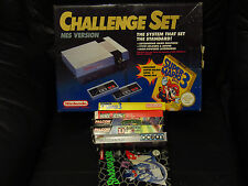 Nintendo Entertainment System NES Boxed + 6 Games - Tested and Working