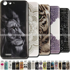 Rubber Skin Back Soft Clear TPU Cover Protective Silicone Painted Case For ZTE