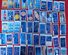 NICE FULL SET OF BROOKE BOND OUT INTO SPACE CARDS ( ISSUE IN SERIES)