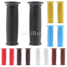 1 Pair Universal 7/8'' Motorcycle Handlebar Hand Grips Rubber