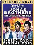 Jonas Brothers - The Concert Experience (DVD, 2009, 2-Disc Set, Includes 717