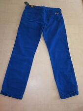 Hollister By Abercrombie Chinos Skinny Pants Green/Blue  -  NWT $49.50