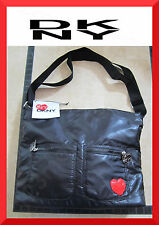 DKNY NEW Heart Design Sport Multi-Color Nylon Shoulder Purse Handbag