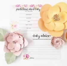 Baby Prediction Card - Gender Prediction - Baby Shower Game - Baby Sprinkle Game
