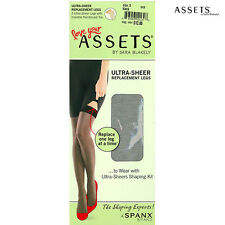 Assets by Spanx 860B Women's Replacement 3 Pack Ultra Sheer Pantyhose One leg