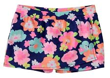 NWT Jumping Beans Multicolored Flower Print Skort Baby Size 3M 18M, Girls 5 6 6X