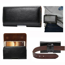 Universal Horizontal Wallet Belt Pouch Cover For Various Phones PDA IPOD