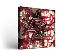 Boston College Eagles Canvas Wall Art Fight Song Design