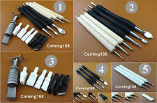5 Kinds Leather Craft Nano Ceramic Blade Swivel Carving Knife Cut Modelling Tool