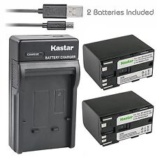 BP945 Battery& Slim USB Charger for Canon XH G1, XH-A1, XH-G1,GL1, GL-1, GL2