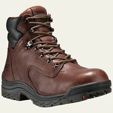 """Timberland PRO Boots Womens TiTAN 6"""" Soft Toe Brown Work Boot 55398210"""