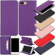 Hot Luxury Ultra Thin Leather Wallet Flip Cover Stand Case Skin For Apple iPhone