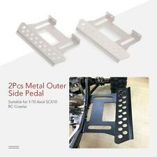 2Pcs Outer Side Pedal Plate for 1/10 Axial SCX10 RC Rock Crawler Parts USA C0H3