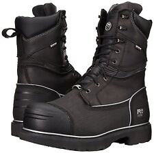 """Timberland PRO Boots Mens 10"""" Gravel Pit Mining Steel Toe WP Ins. 53531"""