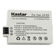Kastar LP-E5 Battery for Canon EOS 450D, Canon EOS 500D, Canon EOS 1000D