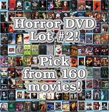 Horror DVD Lot #2: 160 Movies to Pick From! Buy Multiple And Save!