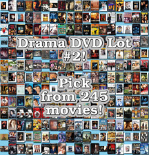 Drama DVD Lot #2: 245 Movies to Pick From! Buy Multiple And Save!