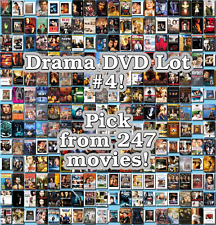 Drama DVD Lot #4: 247 Movies to Pick From! Buy Multiple And Save!
