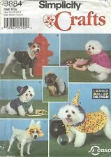 Simplicity 9884 Dog Coats and All Seasons Costumes     Sewing Pattern
